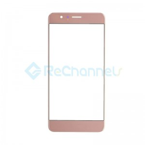 For Huawei Honor 8 Front Glass Lens Replacement - Rose Pink - Grade S+