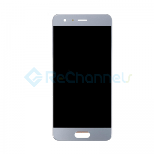 For Huawei Honor 9 LCD Screen and Digitizer Assembly Replacement - Glacier Grey - Grade S+