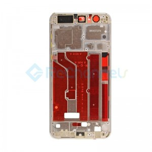 For Huawei Honor 8 Front Housing LCD Frame Bezel Plate Replacement - Gold - Grade S+