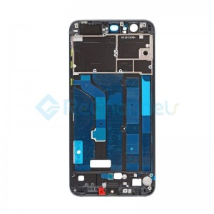 For Huawei Honor 8 Front Housing LCD Frame Bezel Plate Replacement - Black - Grade S+