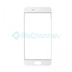 For Huawei Honor 9 Front Glass Lens Replacement - White - Grade S+