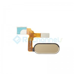 For Huawei Honor 9 Home Button Flex Cable Replacement - Gold - Grade S+