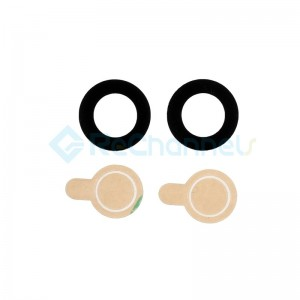 For Huawei Mate 10 Camera Glass Lens with Adhesive Replacement - Grade S+