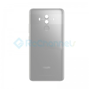 For Huawei Mate 10 Battery Door Replacement - Silver - Grade S+