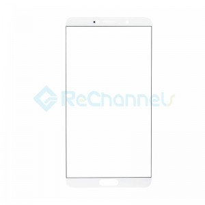 For Huawei Mate 10 Front Glass Lens Replacement - White - Grade S+