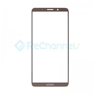 For Huawei Mate 10 Pro Front Glass Lens Replacement - Mocha Brown - Grade S+