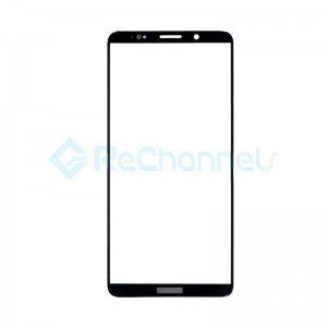 For Huawei Mate 10 Pro Front Glass Lens Replacement - Black - Grade S+
