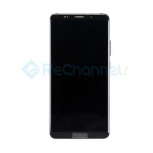 For Huawei Mate 10 Pro LCD Screen and Digitizer Assembly with Front Housing Replacement - Titanium Grey - Grade S+