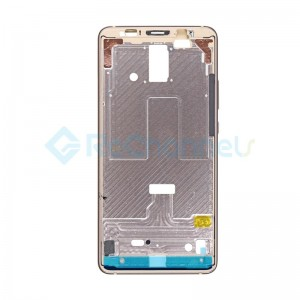 For Huawei Mate 10 Pro Front Housing LCD Frame Bezel Plate Replacement - Mocha Brown - Grade S+