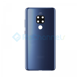 For Huawei Mate 20 Battery Door Replacement - Midnight Blue - Grade S+