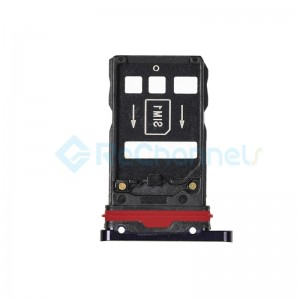 For Huawei Mate 20 Pro SIM Card Tray Replacement - Midnight Blue - Grade S+