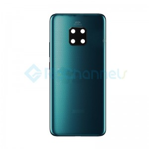 For Huawei Mate 20 Pro Battery Door Replacement - Midnight Blue - Grade S+