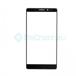For Huawei Mate 8 Front Glass Lens Replacement - Black - Grade S+