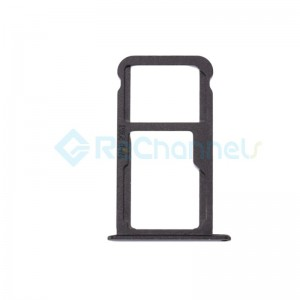 For Huawei Mate 9 SIM Card Tray Replacement - Black - Grade S+