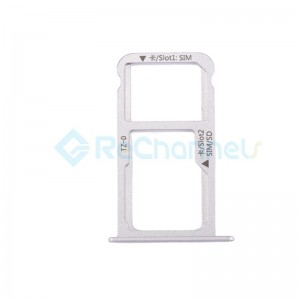 For Huawei Mate 9 SIM Card Tray Replacement - Silver - Grade S+
