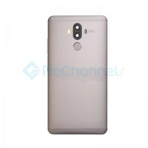 For Huawei Mate 9 Rear Housing with Fingerprint Sensor Replacement - Macha Brown - Grade S+
