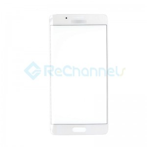 For Huawei Mate 9 Pro Front Glass Lens Replacement - White - Grade S+
