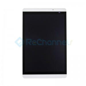 For Huawei Mediapad M2 8.0 LCD Screen and Digitizer Assembly Replacement - White - Grade S