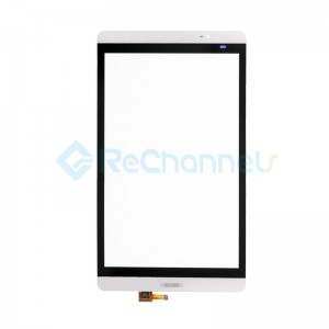 For Huawei Mediapad M2 8.0 Digitizer Touch Screen Replacement - White - Grade S