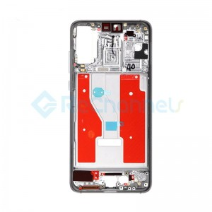 For Huawei P20 Pro Front Housing with Frame Replacement  - Gray - Grade S+