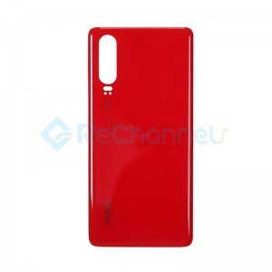 For Huawei P30 Battery Door Replacement - Amber Sunrise - Grade S+