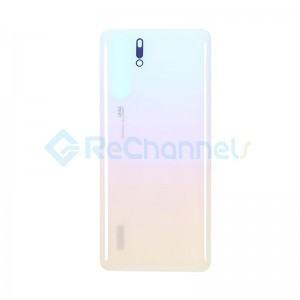 For Huawei P30 Pro Battery Door Replacement - Pearl White - Grade S+