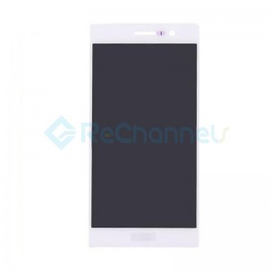 For Huawei P7 LCD Screen and Digitizer Assembly Replacement - White - Grade S+