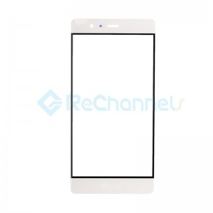 For Huawei P9 Front Glass Lens Replacement - White - Grade S+