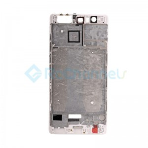 For Huawei P9 Plus Front Housing LCD Frame Bezel Plate Replacement - White - Grade S+