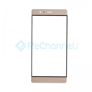 For Huawei P9 Plus Front Glass Lens Replacement - Gold - Grade S+