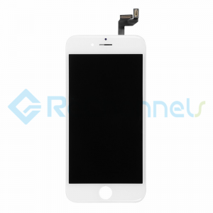 For Apple iPhone 6S LCD Screen and Digitizer Assembly with Frame Replacement - White - Grade R+