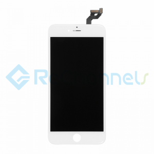 For Apple iPhone 6S Plus LCD Screen and Digitizer Assembly with Frame Replacement - White - Grade R+