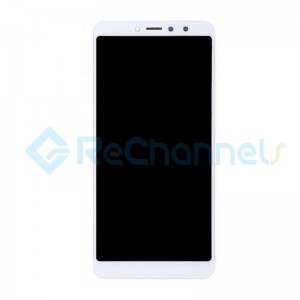 For Xiaomi Redmi S2 LCD Screen and Digitizer Assembly with Front Housing Replacement - White - Grade S
