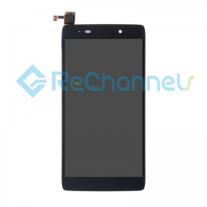 For Alcatel Idol 3 LCD Screen and Digitizer Assembly Replacement (4.7 inches) - Black - Grade S+