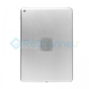 For iPad (6th Gen) Rear Housing Replacement (Wi-Fi) - Silver - Grade S