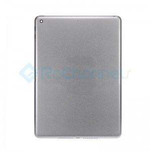 For iPad (5th Gen) Rear Housing Replacement (Wi-Fi) - Space Gray - Grade S