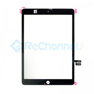 For Apple iPad 10.2 7th Generation Digitizer Touch Screen Replacement (A2198, A2200) - Black - Grade S+