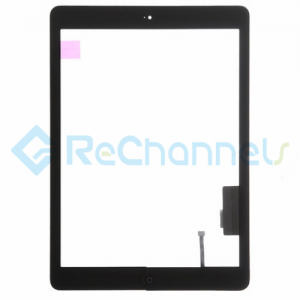 For Apple iPad Air Digitizer Touch Screen Assembly Replacement - Black - Grade S