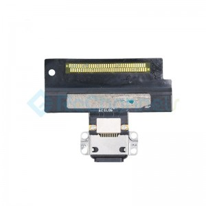 For iPad Air 3 Charging Connector Flex Cable Replacement - Black - Grade S+
