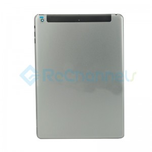 For iPad Air Rear Housing Replacement (Wi-Fi + Cellular) - Space Gray - Grade S
