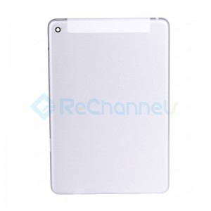 For Apple iPad Mini 4 Rear Housing Replacement (WiFi + Cellular) - Silver - Grade S