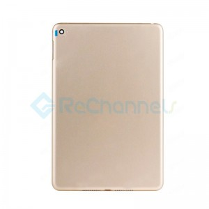 For Apple iPad Mini 4 Rear Housing Replacement (WiFi) - Gold - Grade S