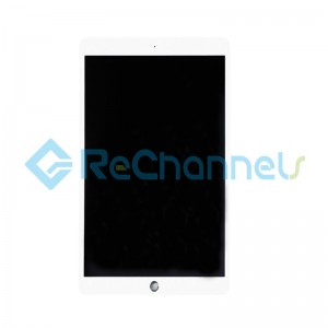 For Apple iPad Pro 10.5 LCD Screen and Digitizer Assembly Replacement (A1701, Wi-Fi Only) - White - Grade S+