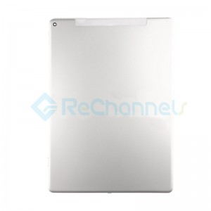 For iPad Pro 12.9 Rear Housing Replacement (Wi-Fi + Cellular) - Silver - Grade S