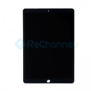 For iPad Pro 12.9 (2nd Gen) LCD Screen and Digitizer Assembly Replacement - Black - Grade S+