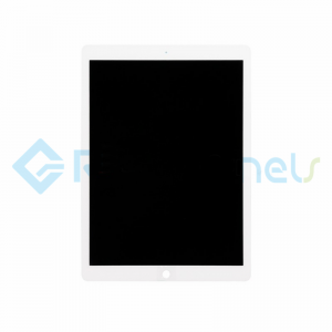 For Apple iPad Pro 12.9 LCD Screen and Digitizer Assembly Replacement - White - Grade S+