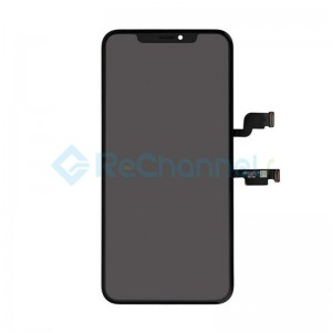 For Apple iPhone XS LCD Screen and Digitizer Assembly with Frame Replacement (OLED) - Black - Grade R+