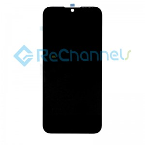 For Huawei Y5 2019 LCD Screen and Digitizer Assembly with Front Housing Replacement - Black - Grade S+