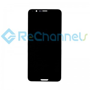 For Huawei Honor View 10 LCD Screen and Digitizer Assembly with Front Housing Replacement - Black - Grade S+