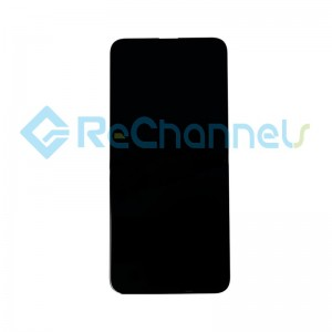 For Huawei P Smart Pro 2019 LCD Screen and Digitizer Assembly Replacement - Black - Grade S+